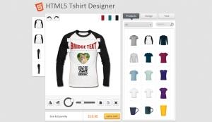 HTML5 Tshirt Designer Tool