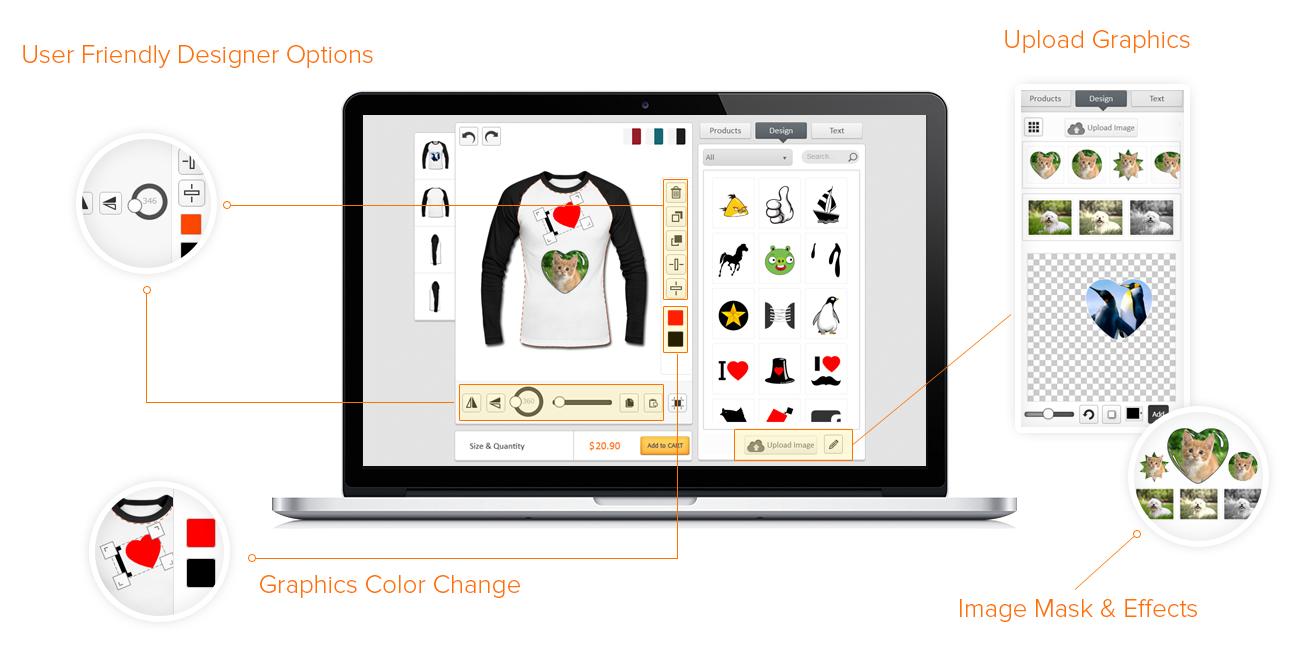T Shirt Designer Tool Cross Platform Development