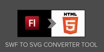 SWF to SVG converter online